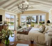 chambre style rustique maison de vacances
