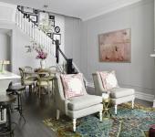 Maison citadine intérieur design glamour