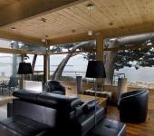 belle et moderne maison en bois en Bretagne