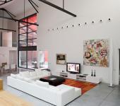 loft industriel garage entrepôt maison citadine transformation