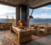 maison moderne éclectique luxe