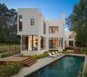 maison contemporaine préfabriquée luxe