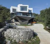 architecture originale moderne maison