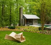 pavillon résidentiel contemporain d'architecte