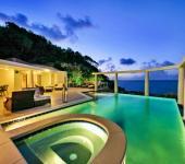 ambiance romantique de nuit vacances exotiques