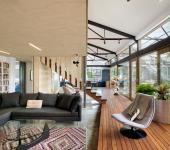design intérieur créatif industriel loft rénové