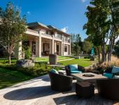 villa luxueuse de vacances sur la côte