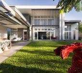 Maison d'architecte citadine familiale