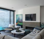 intérieur design moderne élégant maison citadine