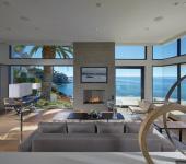 magnifique maison de luxe vue sur la mer