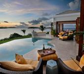 vacances exotique villa de luxe