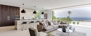 séjour salon luxe mobilier aménagement maison neuve