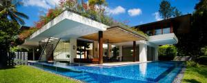 architecture moderne maison contemporaine exotique luxe