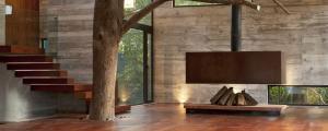 design intérieur minimaliste maison verte écologique
