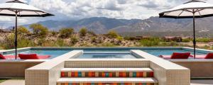 piscine hors sol maison familiale de luxe arizona