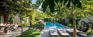 extérieur aménagement piscine jardin maison de ville