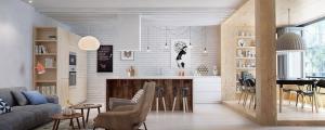 décoration design scandinave appartement citadin