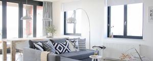 design intérieur appartement scandinave jeune couple