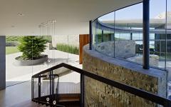 intérieur agencement original maison avec vue