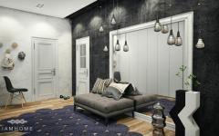 appartement aménagé par architecte d'intérieur