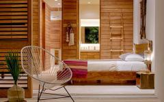 résidence secondaire chambre en bois