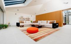 espace living room design élégant résidence de vacances à louer
