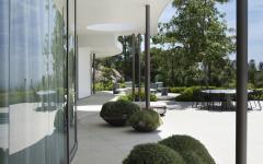 espaces outdoor maison moderne