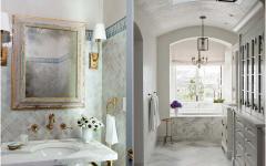 marbre blanc aménagement luxe salle de bains