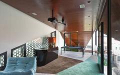 aménagement espaces dans les combles maison moderne