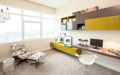 aménager bureau à la maison moderne