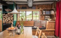salle à manger meuble intérieur rustique rénové