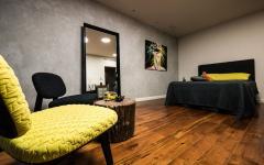 design rustique minimaliste chambre à coucher