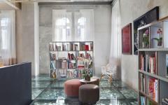 coin espace lecture bibliothèque grande pièce principale