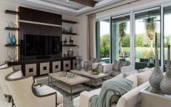 séjour salon moderne belle maison secondaire