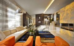 mobilier luxe design séjour