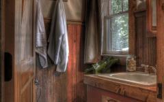 intérieur bois authentique rustique maison