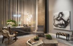 déco éclectique classe villa de luxe loft