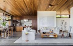 ameublement design luxe séjour maison secondaire