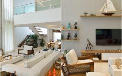 séjour spacieux maison familiale secondaire mer