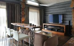 intérieur design moderne maison en bois