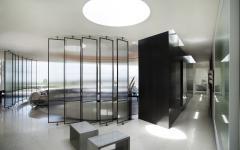 intérieur moderne et originale maison d'architecte