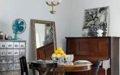 ameublement original artistique éclectique appartement familiale de ville