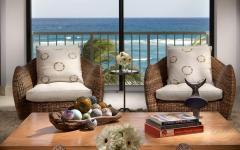 assise design rotin résidence secondaire côte
