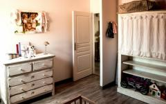 ameublement chambre enfant minimaliste rustique