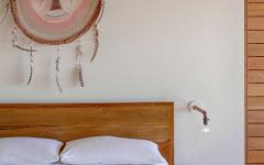 meubles en bois design minimaliste exotique