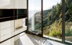 belle vue depuis salle de bain baignoire maison d'architecte
