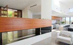 résidence d'architecte avec vue