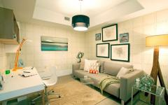 déco design chambre d'ado appartement