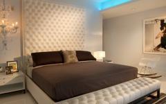 chambre minimaliste luxe