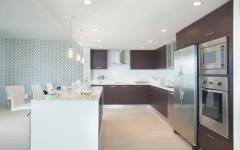 cuisine design moderne appartement luxe